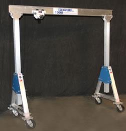 Adjustable Height Aluminum Gantry Crane Gantry Cranes Hoist
