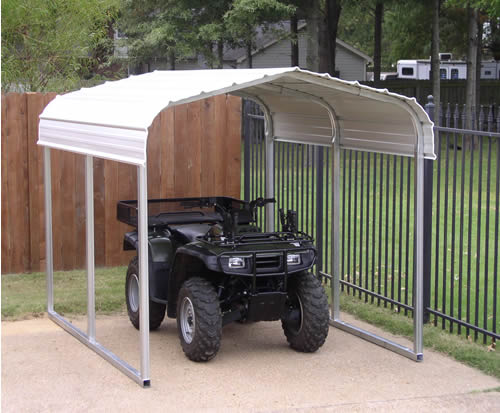 Vehicle Storage Shelter : Carports steel shelters storage boat vehicle