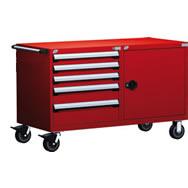 30W x 27D Heavy Duty double mobile cabinets