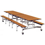 Mobile Bench Tables