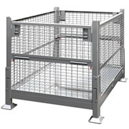 Great Collapsible Wire Mesh Steel Bins
