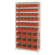 giant open hopper wire shelving systems