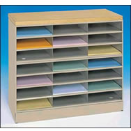 wood top office centers literature mail organizers