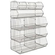 Wire Storage Bins | Wire Mesh Baskets Wire Mesh Bins Wire Mesh Containers Wire