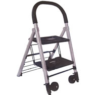 aluminum ladder & cart