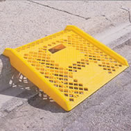 molded plastic curb ramps