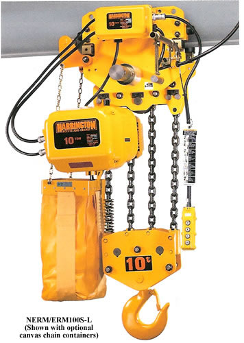 Erm Large Capacity Electric Chain Hoists With Motorized