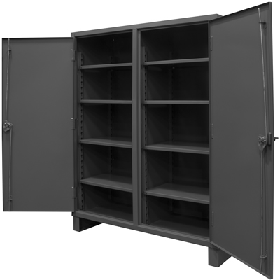 Extra Heavy Duty Lockable Double Shift Storage Cabinets