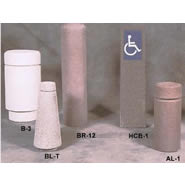 concrete bollards
