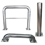 stainless steel guards and handrails