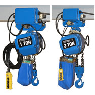 motorized trolleys for chain hoist