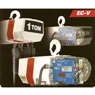 ec-v models electric chain hoist