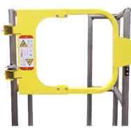 ladder safety gate