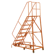 Steel Rolling Warehouse Ladders, Hd Steel Rolling Warehouse Ladders ...