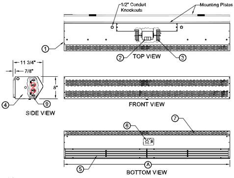 Air Curtain Door, Commercial Air Curtains, Air Doors, Mars ... on 2 speed electric motor wiring diagram, 1 phase electric motor wiring diagram, 3 speed electric motor wiring diagram, 230 volt electric motor wiring diagram,