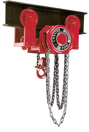 Zephyr Swivel Truck Low Headroom Trolley Hoists