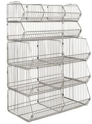 Gentil Modular Wire Stacking Baskets