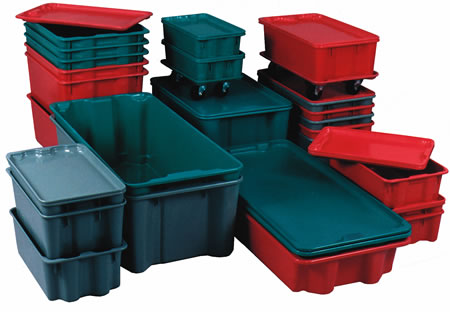 Nest And Stack Containers Fiberglass Boxes Stacking Containers