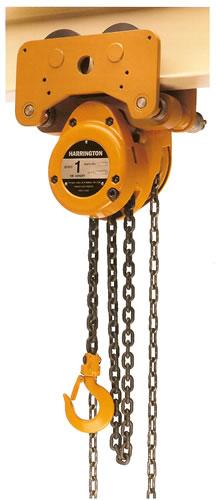 Harrington Nth Low Headroom Trolley Hoist 1 2 Amp 5 Ton