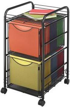 mesh file cart ...  sc 1 st  Gilmore-Kramer Company & Rolling File Storage Mobile File Storage Mesh File Carts File ...
