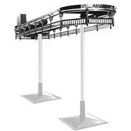 Enclosed Track Conveyors Overhead Conveyors Safe Rail