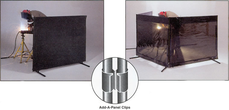 Portable Welding Screens : Grinding screen welding portable safety screens