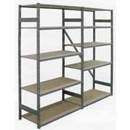 boltless steel edge shelving