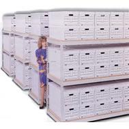 pre-engineered record storage racks