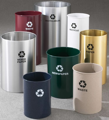 Wastebaskets, Waste Receptacles, Office Recycling Bin, Recycle, Recycle  Container, Recycle Trash Can, Trash Receptacles, Recycling Containers, ...