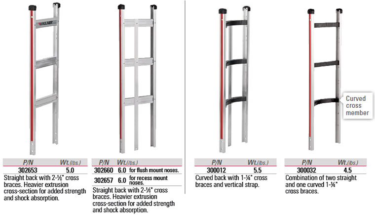 Magliner 210100/Stand Aluminium with Cylinder Right for Hand Truck