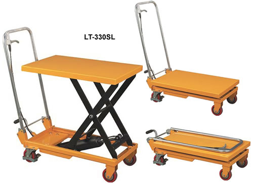 Scissor Lift Tables Foot Operated Pump