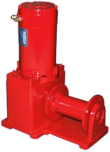 Helical-Worm Gear Power Winches, Powered Winches, Power