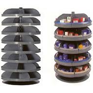 24/28 inch rotabin revolving shelf units