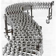 flexible gravity skatewheel conveyor