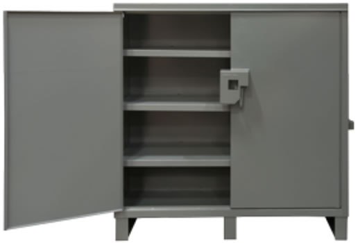 Clearview Lockable Storage Cabinet