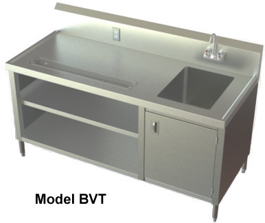 Sinks nsf sinks stainless steel sink utility sinks specialty tables - Stainless steel table with sink and faucet ...