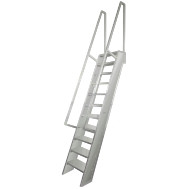 welded aluminum ships ladder