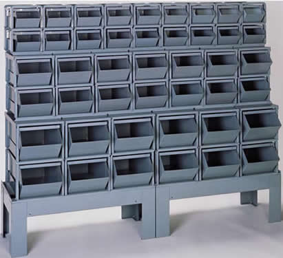 Amazing Bins, Corrugated Steel Containers, Metal Bins, Metal Storage Bins, Stack  Bins, Stackable Containers, Stackbins