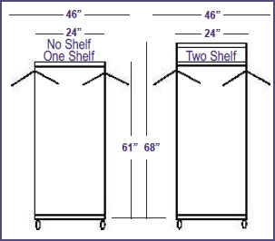 Stationary Coat amp Hat Rack Systems Racks