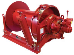 Air Powered Winches, Powered Winches, Power Winch, Power Winches
