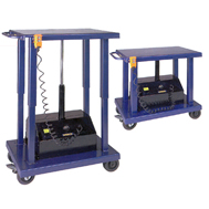 powered lift tables