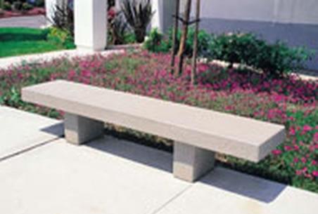precast concrete benches 2