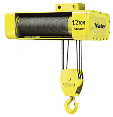 Electric wire rope hoists wire rope hoist hoists for 2 ton hoist with motorized trolley